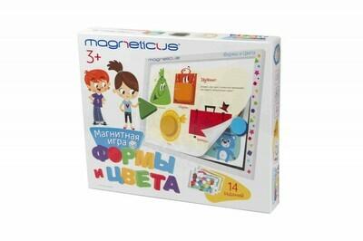 """Magneticus Игровой набор """"Формы и Цвета"""" в картонной коробке"""