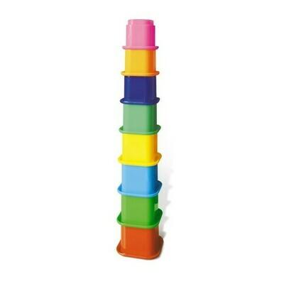 Развивающая игрушка «Занимательная пирамидка - 2», цвет МИКС