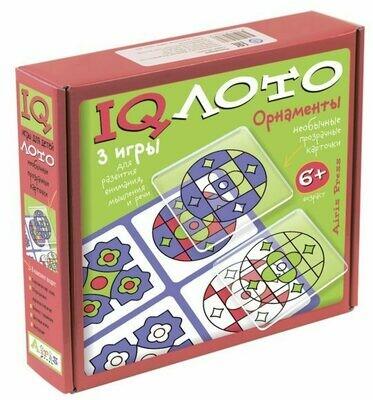 "IQ лото ""Орнаменты"" Комплект из трех игр"