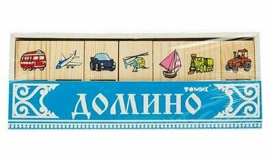 """Домино Томик """"Транспорт"""""""
