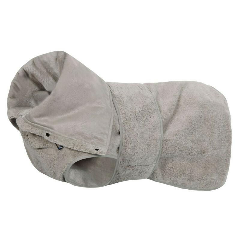 Rukka micro bathrobe light beige