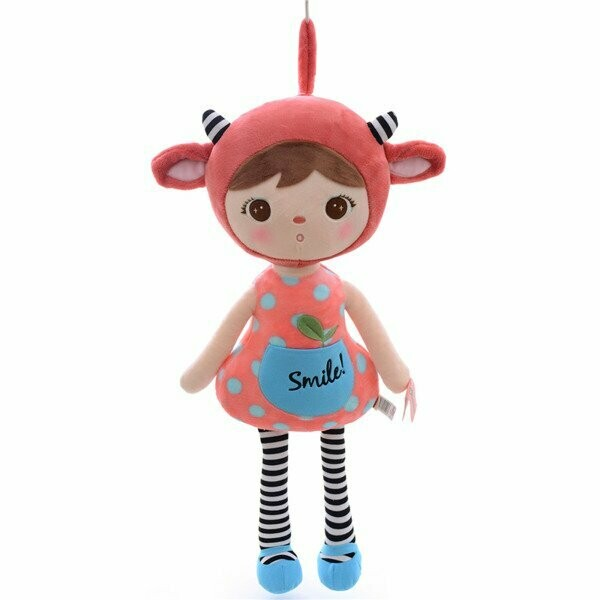 Metoo red sheep doll (45 cm)