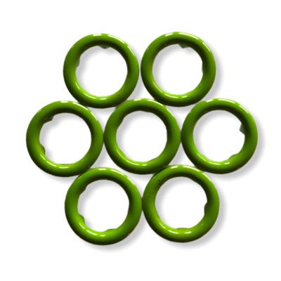 Green snap buttons - 11 mm