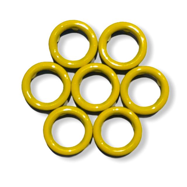 Gula tryckknappar - 11 mm
