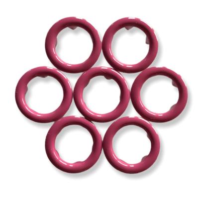 Dark pink snap buttons - 11 mm