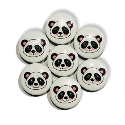 Panda snap buttons - 11 mm