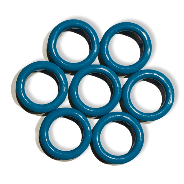 Turquoice snap buttons - 11 mm