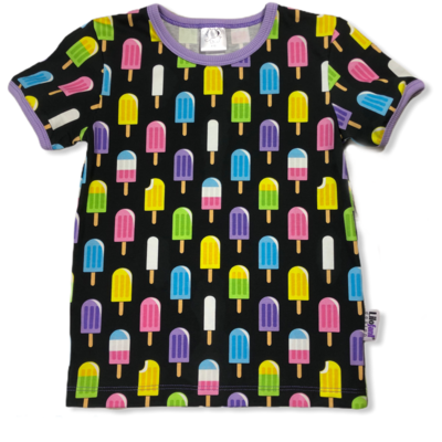 Black icecream t-shirt