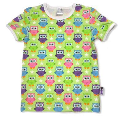 Green summerowls t-shirt