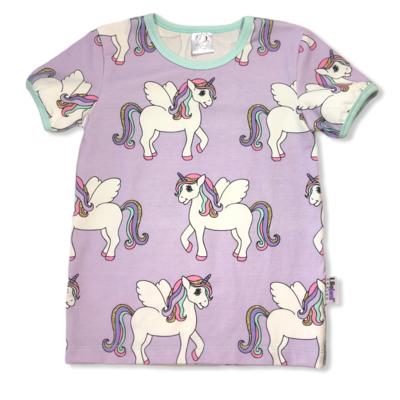 Purple unicorns t-shirt