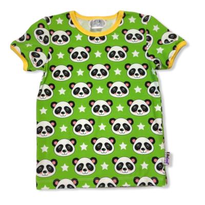 Green panda t-shirt