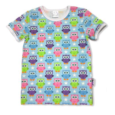 Blue summerowls t-shirt