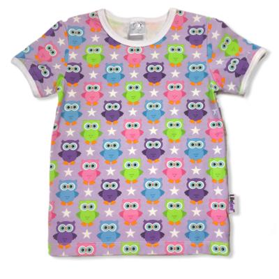 Purple summerowls t-shirt
