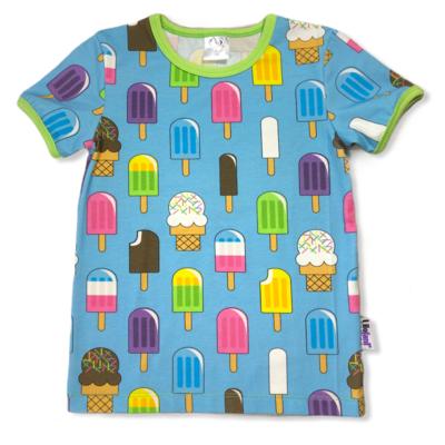 Blue icecream t-shirt