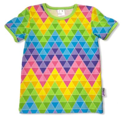 Summer zigzag triangles t-shirt