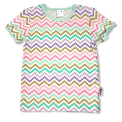 Gold zigzag t-shirt
