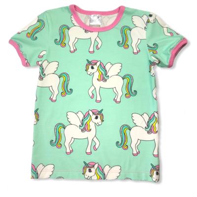 Mint unicorn t-shirt