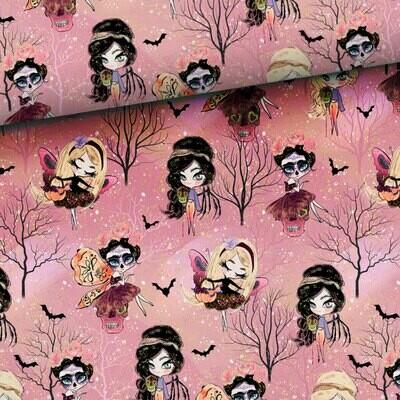 Pink halloween (college) - 0,7 meter