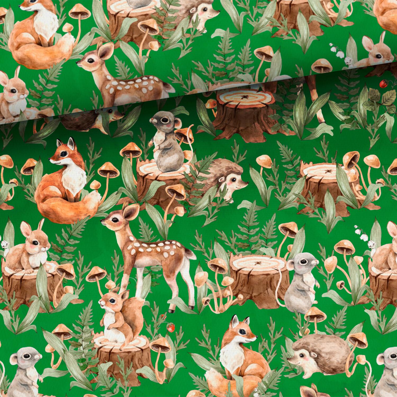 Green forrest animals (college)