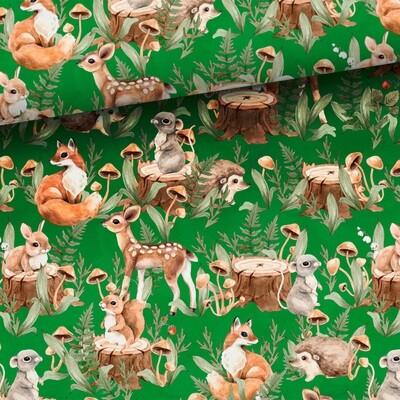 Green forrest animals (college) - 1,1 meter