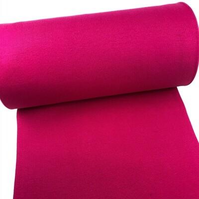 Hot pink ribbed cuffs (35 cm x 2)