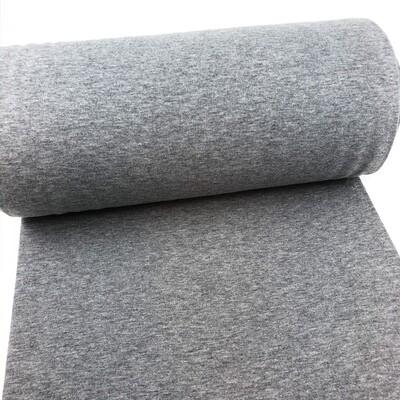 Grey melange cuffs (35 cm x 2)