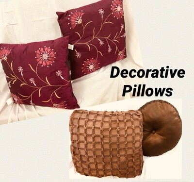 Decorative Pillows   2 for $6.00