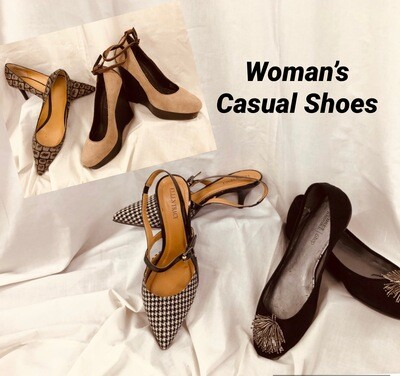 Women's Casual Shoes 2 for $10
