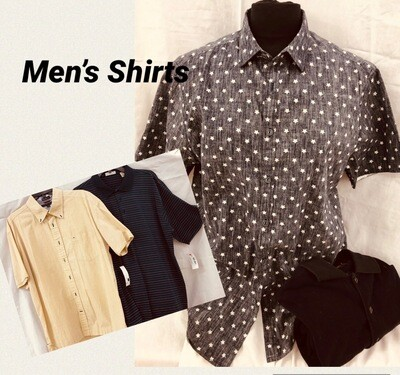 Men's Shirts          2 for $8.00
