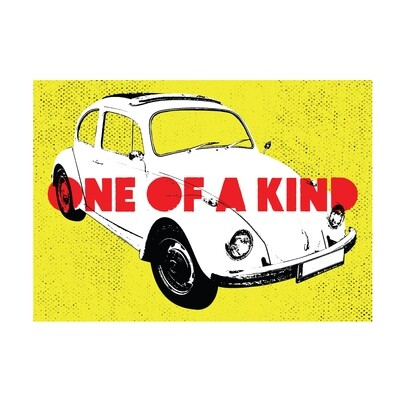 One of a kind (yellow)