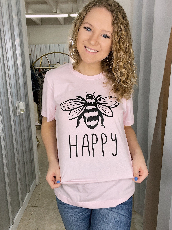 Bee Happy Tee
