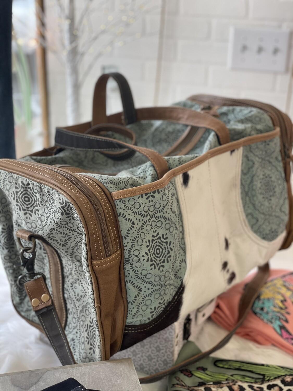 Floral Print Travel Bag