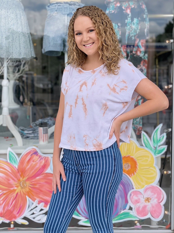 Uptown Girl Tie Dye Top