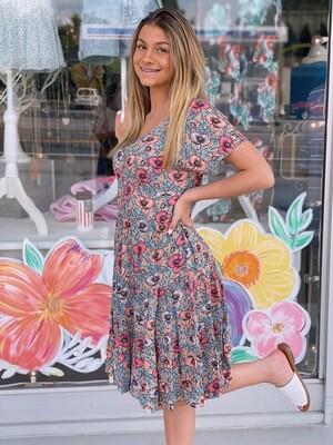In Bloom Floral Dress