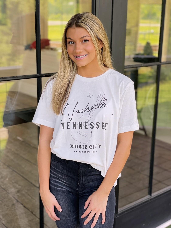 Nashville, TN Tee