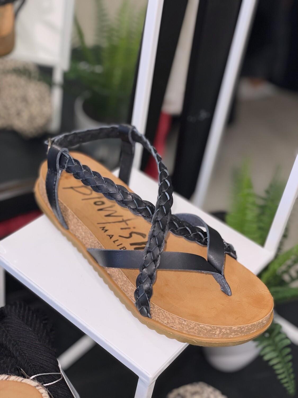 Blk sandal