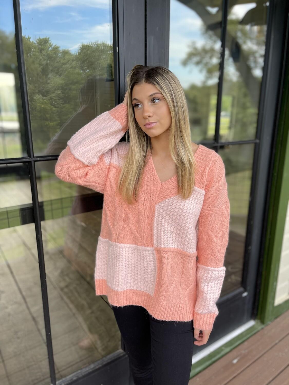 Feelin Peachy Sweater