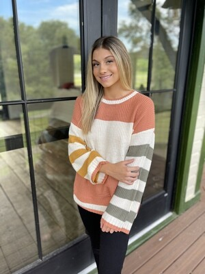 Your Moment Stripe Sweater