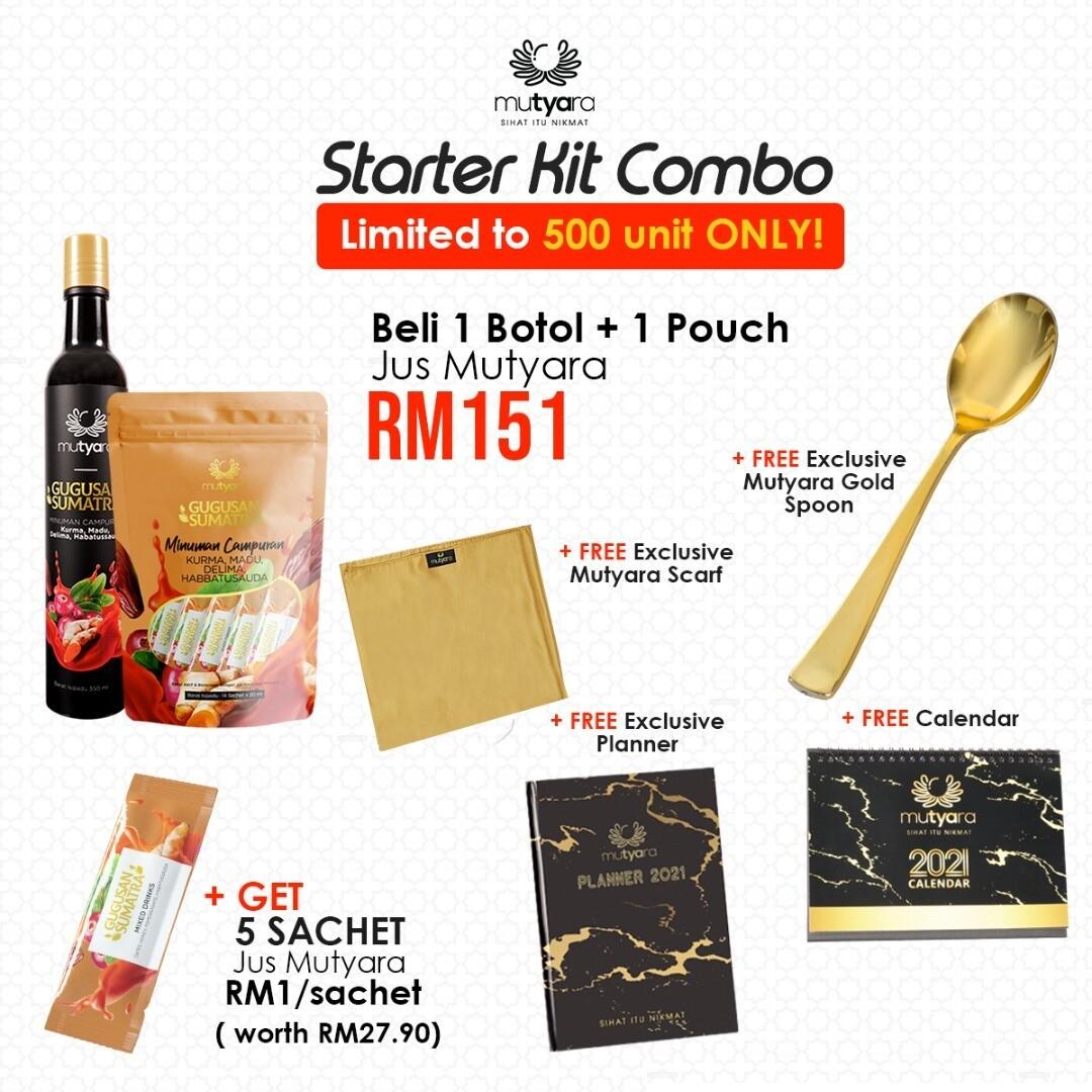 Starter Kit Combo