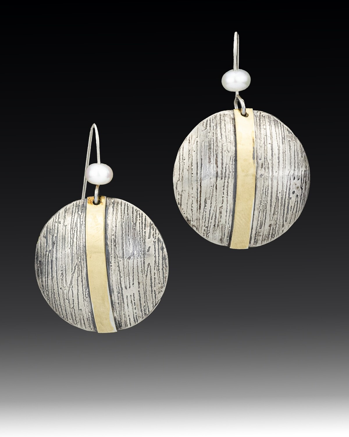 Graphic Striped Earrings