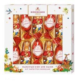 Niederegger Marzipan Easter Bunnies & Eggs - 147g/5.3 Oz