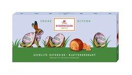 Niederegger Blaetterkrokant filled Easter Eggs - 100g/3.5oz
