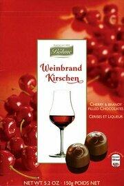 Boehme Brandy & Cherry Filled Chocolates in Gift Box - 150g/5.3 oz