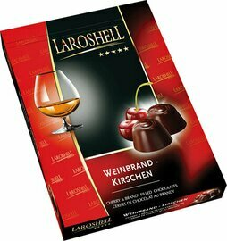 LaRoshell Cherry and Brandy Filled Chocolate - 150 g/5.25 oz
