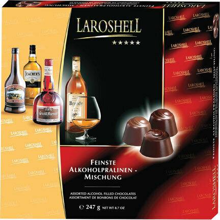 LaRoshell Assorted Liqueur Filled Chocolates - 247G/8.78 Oz