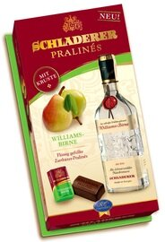 Schladerer Pralines - Williams Pear Brandy - 96g/3.4 oz