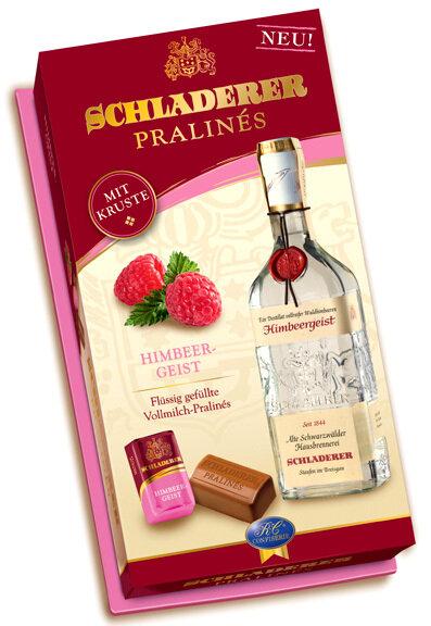 Schladerer Pralines - Raspberry Brandy