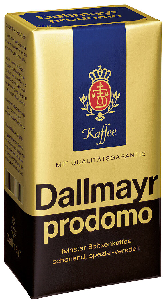 Dallmayr Prodomo Coffee - 17.6 oz - Case Pack