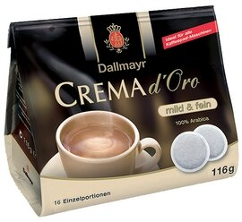 Dallmayr Crema d'Oro Coffee Pads - 116g/4.06 oz