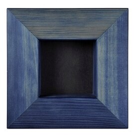 Bjoern Koehler Kunsthandwerk - Wooden Frame - Color blue